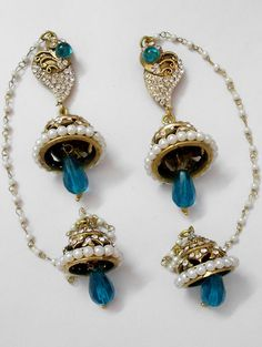 Manufacturer of victorian Earrings  visit www.impexfashions.com