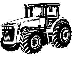 Wandtattoo Trecker / Traktor Wandtattoo