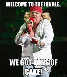 Sweet tooth child of mine. #AxlRose