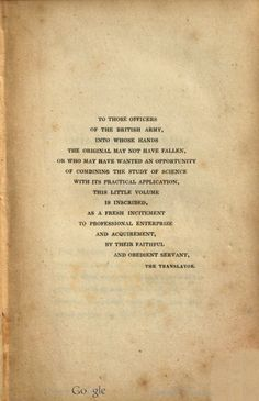 The officer's manual, military maxims [ed. by - Burnod] tr. by colonel D'Aguilar, by Napoleon Published 1831.
