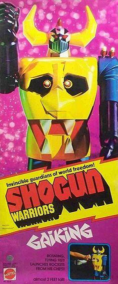 Gaiking - Shogun Warriors   [SHOGUNS] [GODAIKINS] [SUPER ROBOTS] #Toys #Vintage