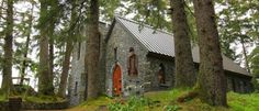 Shrine of St. Therese in Juneau- peace and serenity are always found here...