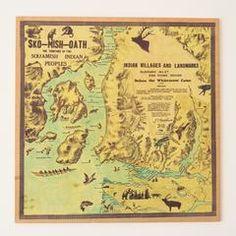 Vintage - Sko-Mish-Oath Map