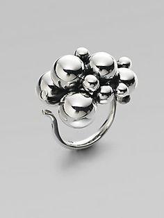 Georg Jensen Grape Sterling Silver Ring