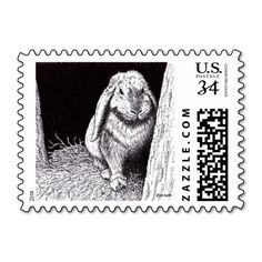 Shop shadowy rabbit animal drawing postage created by naturalarts. Animal Drawings, Postage Stamps, Rabbit, Best Gifts, Natural, Prints, Animals, Products, Art