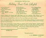 Vintage Recipes 1964: Cakes, Cookies,