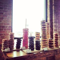 Doughnut towers