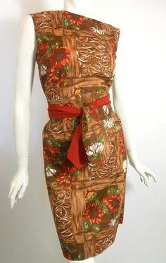 60s dress vintage dress vintage hawaiian dress