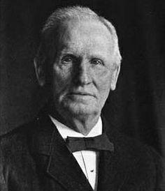Late portrait of Chr. Hansen