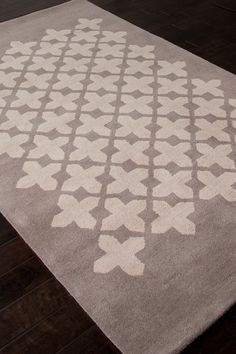 Modern Hand-Tufted Wool Plush Pile Rug - Ashwood  by Addison & Banks on @HauteLook