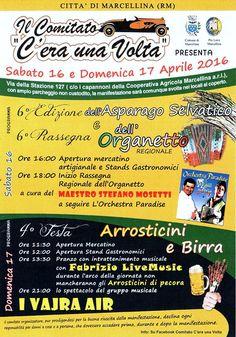 Sagra dell'Asparago Selvatico e Rassegna dell'Organetto Festa Arrosticini e Birra
