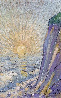 The Dawn by Pissarro