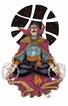 Stephen Strange, M.D. by ChrisJamesScott on deviantART