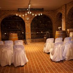 Cellar for the ceremony