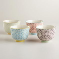 Charlotte Bowls, Set of 4 | World Market