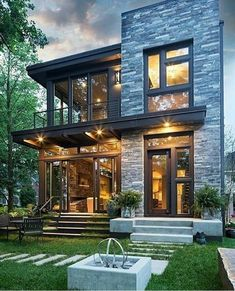 Exterior home design styles captivating decoration w h p is one of images from house exterior design styles. This image's resolution is pixels. Find more house exterior design styles images like this one in this gallery Future House, My House, Smart House, Ideal House, House Roof, Open House, House Goals, Modern House Design, Modern Glass House