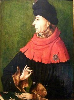 2) JAN ZONDER VREES / JEAN SANS PEUR (Dijon 1371 – murdered in 1419) - second duke of Burgundy and son of a succesfull marriage between a minor son of the French king and Margareth of Flanders