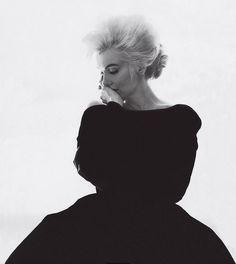 Marilyn in Christian Dior, photo by Bert Stern.   June 1962.