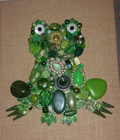 Another frog. #oneofakind #original #beading #handmade
