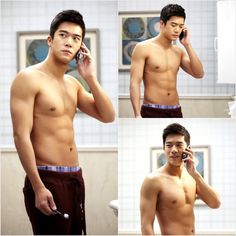 A tribute to Ha Suk Jin's chocolate abs