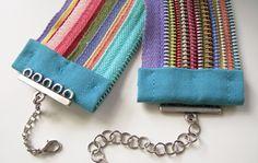 Additional Zipper Tutorial Links: http://www.ecouterre.com/make-tara-st-james-recycled-zipper-bracelet-diy-tutorial/ .. http://whipup.net/2010/06/12/zipper-bracelet-tutorial/ .. http://www.cutoutandkeep.net/projects/zipper-bracelet