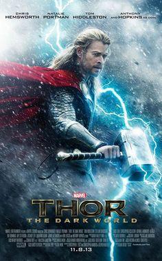 Marvel reveló nuevo [PÓSTER] de Thor: The Dark World con Chris Hemsworth