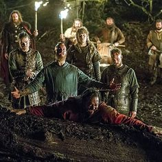 You'll get a bit #KingAelle overload later today as a consequence of yesterday's last #Vikings #livetweet session - and a lot of #actingappreciation & interpretation. #IvanKaye #Vikingsfans #Vikingsfamily #Revenge #bloodeagle #4×18 #amazingacting #amazingactor