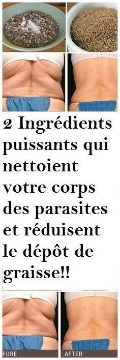 2 Ingrédients puissants qui nettoient votre corps des parasites et réduisent le dépôt de graisse!!