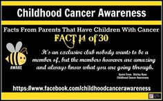 Childhood Cancer Awareness: 30 Facts From Parents