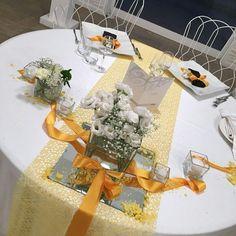 Bianco giallo e nero! #borgodegliangeli #allestimentinozze #wedding