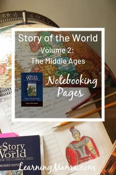 Story of the World Volume 2 Notebooking Pages Susan Wise Bauer, Homeschool Curriculum, Homeschooling, History For Kids, Story Of The World, Mystery Of History, Teaching History, Middle Ages, Textbook