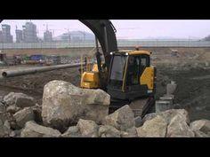 Volvo E-series crawler excavators: small but mighty Volvo, Beer, Mugs, Youtube, Root Beer, Ale, Mug