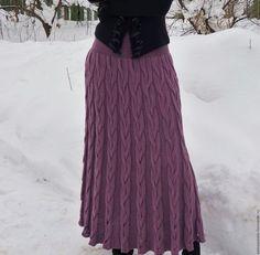 Crochet Skirts, Knit Skirt, Knit Dress, Tie Dye Skirt, Dress Skirt, Knit Fashion, Fashion Outfits, Cardigan Pattern, Knitting Designs