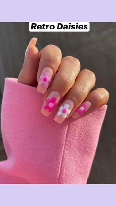 Simple Acrylic Nails, Best Acrylic Nails, Acrylic Nail Designs For Summer, Fun Nail Designs, Cute Summer Nail Designs, Funky Nails, Fire Nails, Minimalist Nails, Nagel Gel