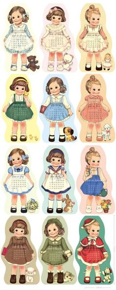 Cute Dolls* Let's connect at social media Twitter #QuanYin5 YouTube QuanYin5 Linked In QuanYin5 Pinterest QuanYin5 * The International Paper Doll Society by Arielle Gabriel *