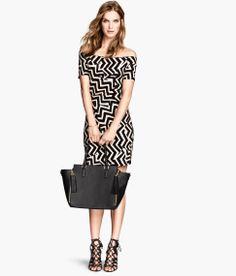 Off-the-shoulder Dress $17.95