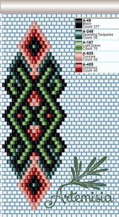 off loom beading Native Beading Patterns, Beaded Earrings Patterns, Seed Bead Patterns, Peyote Patterns, Bead Earrings, Beading Projects, Beading Tutorials, Beading Supplies, Motifs Perler