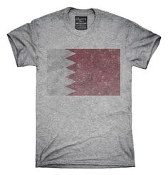 Retro Vintage Bahrain Flag T-Shirts, Hoodies, Tank Tops