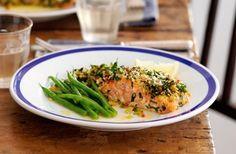 Lemon chilli infused salmon