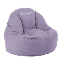 Girls Solid Leanback Lounger
