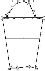 """Exemplos de modelos desenvolvidos com base em vestidos concebidos no """"cortador"""""""