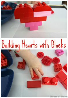 Building Hearts with Blocks - House of Burke
