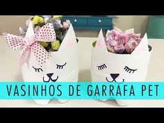 RECICLANDO EMBALAGEM DE SHAMPOO - Gato para enfeite - YouTube