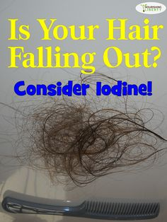 Is your hair falling out? Mine was! Horrible!!! I started using iodine and now…