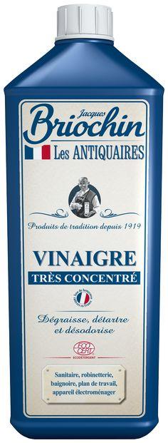 Vinaigre Très Concentré Les Antiquaires par Briochin