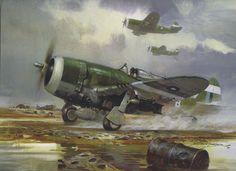 P-47 Thunderbolt - Artist Michael Turner More