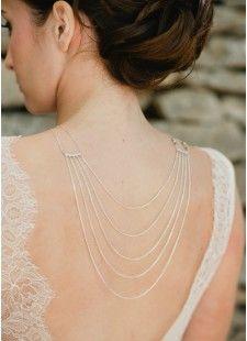 Bijou de dos à associer aux colliers de mariée (2) - So Hélo