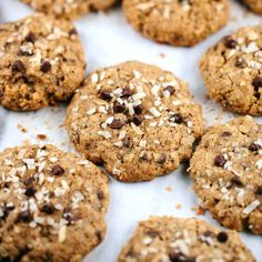 Oatmeal chocolate chip coconut lactation cookies are a treat for breastfeeding…