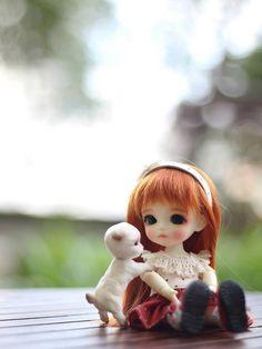 Cute Girl Hd Wallpaper, Cute Love Wallpapers, Cute Cartoon Wallpapers, Bear Wallpaper, Cute Cartoon Pictures, Cute Cartoon Girl, Beautiful Barbie Dolls, Pretty Dolls, Cute Baby Couple