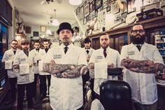 旬の紳士たちが集うところ――男たちよ、床屋へ還ろう | GQ JAPAN